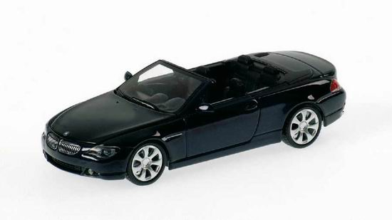 1:43 BMW 6-SERIES CABRIO / E 64 / 2006 DARK BLUE METALLIC