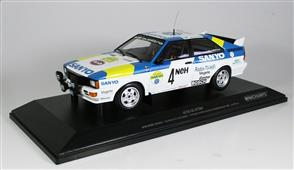 1:18 AUDI QUATTRO - AUDI SPORT SWEDEN - BLOMQVIST/CEDERBERG - WINNERS INTERNATIONAL SWEDISH RALLY 1982