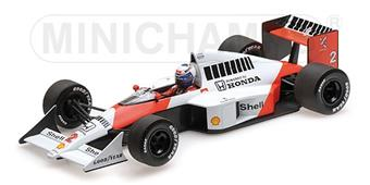 1:18 MCLAREN MP4/5 - ALAIN PROST - WORLD CHAMPION 1989