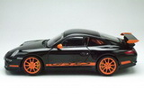 1:43 PORSCHE 911 /997/ GT3 RS BLACK-ORANGE STRIPES