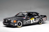 1:18 MERCEDES 500 SEC AMG 24H SPA 1989 NO6 LUDWIG / CUDINI / MULLER