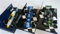 3ks FORMULA F1 SET 1:43 LOTUS, TYRRELL, WILLIAMS