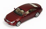 1:43 MERCEDES CLS 320 CDI 2006 RED METALLIC
