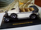 1:43 MAYBACH ZEPPELIN V12 DS8 1930 WHITE