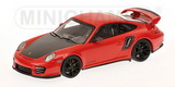 1:43 PORSCHE 911 ( 997 II ) GT2 RS 2010 RED BLACK WHEELS