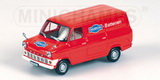 1:43 FORD TRANSIT RED 1965 DAIMON BATTERIEN
