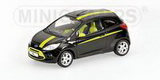 1:43 FORD KA 2009 BLACK METALLIC