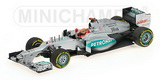 1:43 MERCEDES AMG PETRONAS F1 TEAM W03 - MICHAEL SCHUMACHER - 3RD PLACE EUROPEAN GP 2012