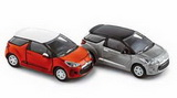 1:87 CITROEN DS3 2010 RED + SILVER